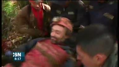 Rescatado espele�logo espa�ol