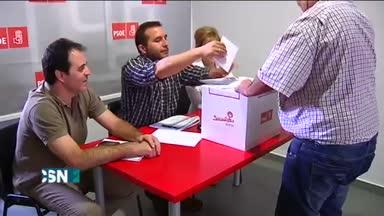 Primarias del PSOE en 73 municipios