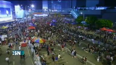 Ultim�tum de los estudiantes de Hong Kong