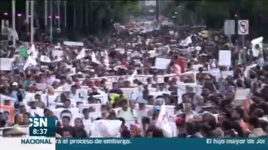 M�xico clama por los estudiantes de Iguala