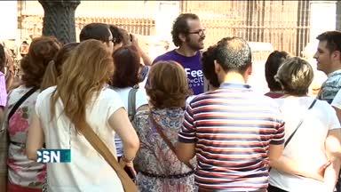 18.800 parados m�s en Andaluc�a