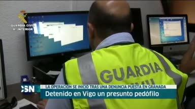 Detenido en Galicia ped�filo que actu� en Andaluc�a