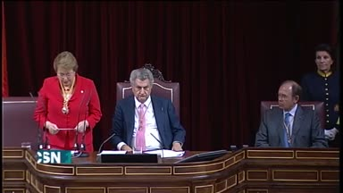 Bachelet en el Congreso