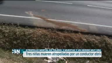 Mueren tres j�venes atropelladas en Toledo