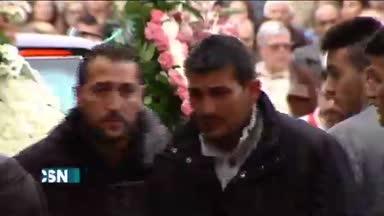 Funeral por las tres j�venes de Toledo