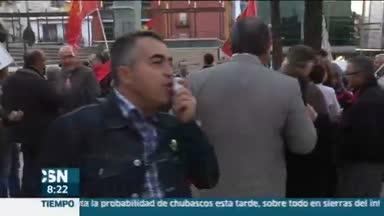 Marchas contra los desahucios en Andaluc�a