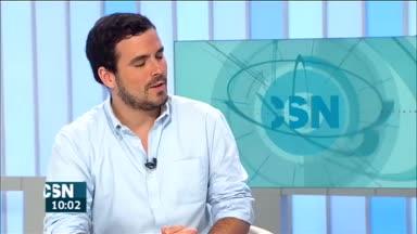 Entrevista a Alberto Garz�n (IU)