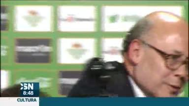 Presidente del Betis, Juan Carlos Ollero