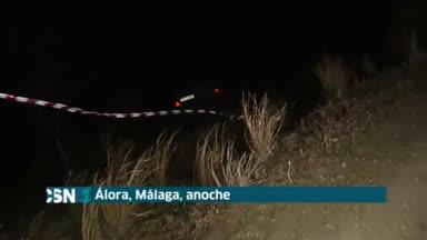 Dos muertos al caer coche en barranco