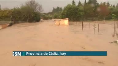 Problemas por las lluvias en C�diz