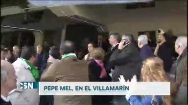 El beticismo recibe a Pepe Mel