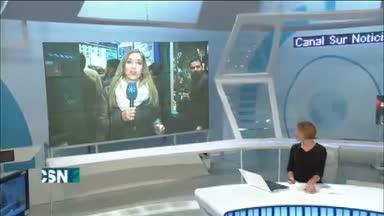 Los andaluces apuran la compra de loter�a