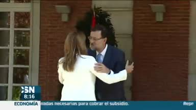D�az se re�ne con Rajoy en Moncloa