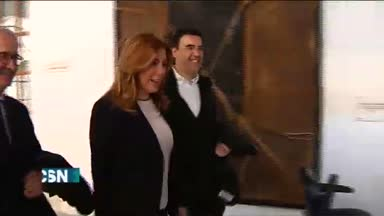 Susana D�az se re�ne con Rajoy