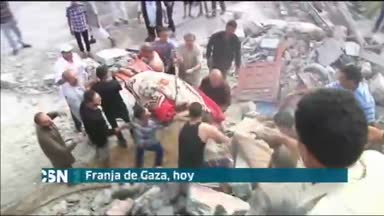 Gaza sigue arrasada