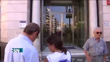 Protestas contra los desahucios en Granada