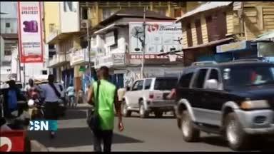 Toque de queda en Liberia