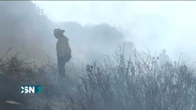 Incendio en San Roque, C�diz