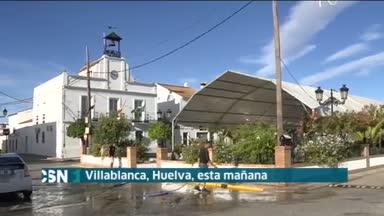 Corte de luz en la costa de Huelva