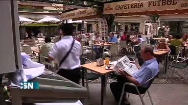 Desigual seguimiento de huelga en Granada