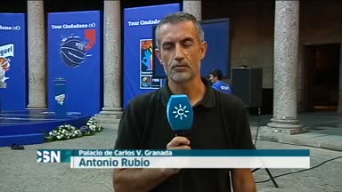 Inauguraci�n oficial del Mundial de Baloncesto en Granada