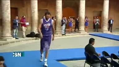 Inauguraci�n del Mundial de Baloncesto