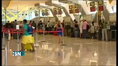Retrasos y cancelaciones, en Barajas