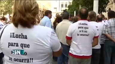 Protesta por falta urgencias