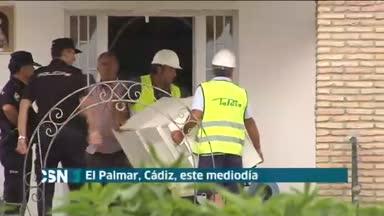 Derribo vivienda en El Palmar