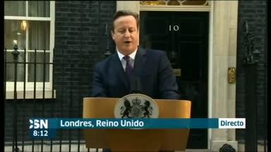 Alivio de Cameron tras refer�ndum
