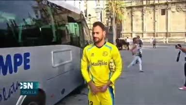 El Sevilla se enfrenta al Rikeja