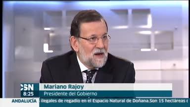 Entrevista de Rajoy en Tele5