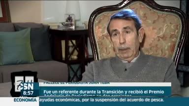 Fallece el periodista Juan Teba