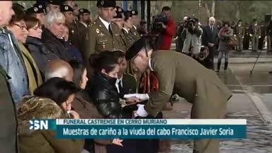 Funeral militar fallecido en L�bano