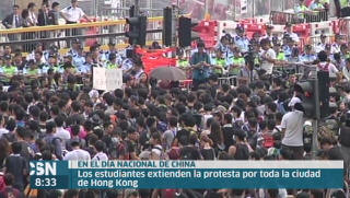 Siguen las protestas en Hong Kong