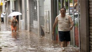 Graves inundaciones en Tenerife