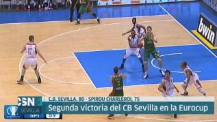 Segunda victoria del CB Sevilla