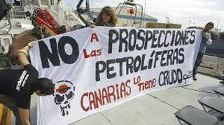 Protestas contra las prospecciones