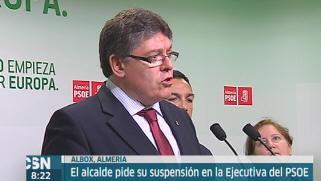 Alcalde de Albox deja la ejecutiva del PSOE-A