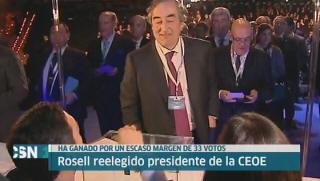 Rosell renueva en la CEOE
