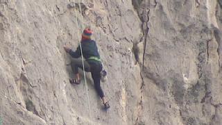 Muere una escaladora en El Chorro