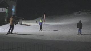 Esqu� nocturno en Sierra NEvada