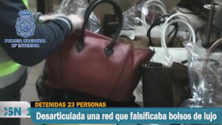 Cae una red de falsificadores