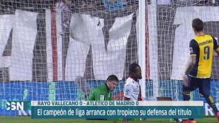 Rayo Vallecano 0-0 At. Madrid