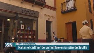 Detenido tras hallazgo de un cad�ver en Sevilla