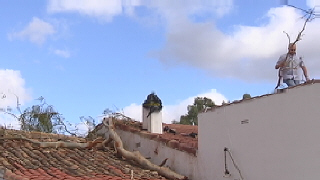 Tornado en la Sierra de Huelva