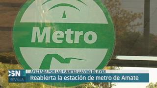 Se normaliza Metro de Sevilla