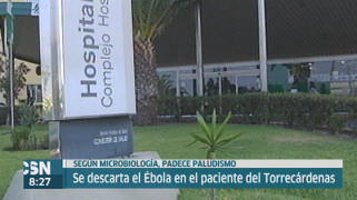 Los pacientes de Torrec�rdenas no ten�an �bola