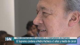 Pacheco ir� a prisi�n