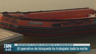 Buscan joven desaparecido en Guadalquivir